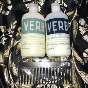 VERB Hydrating Shampoo, Conditioner, & bonus comb